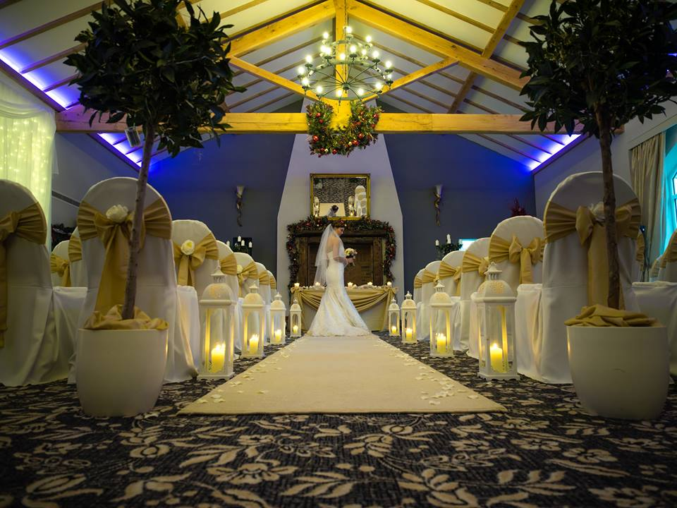 Opulent gold sash bows & wedding styling by Sophisticated Events