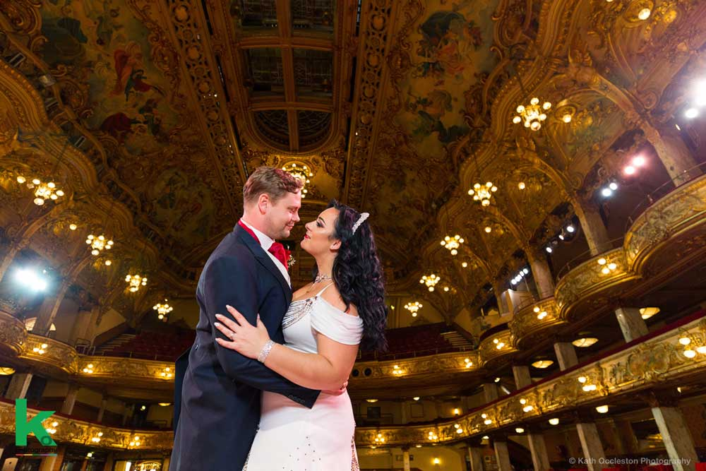 Blackpool Tower wedding photography - Kath Occleston Photography