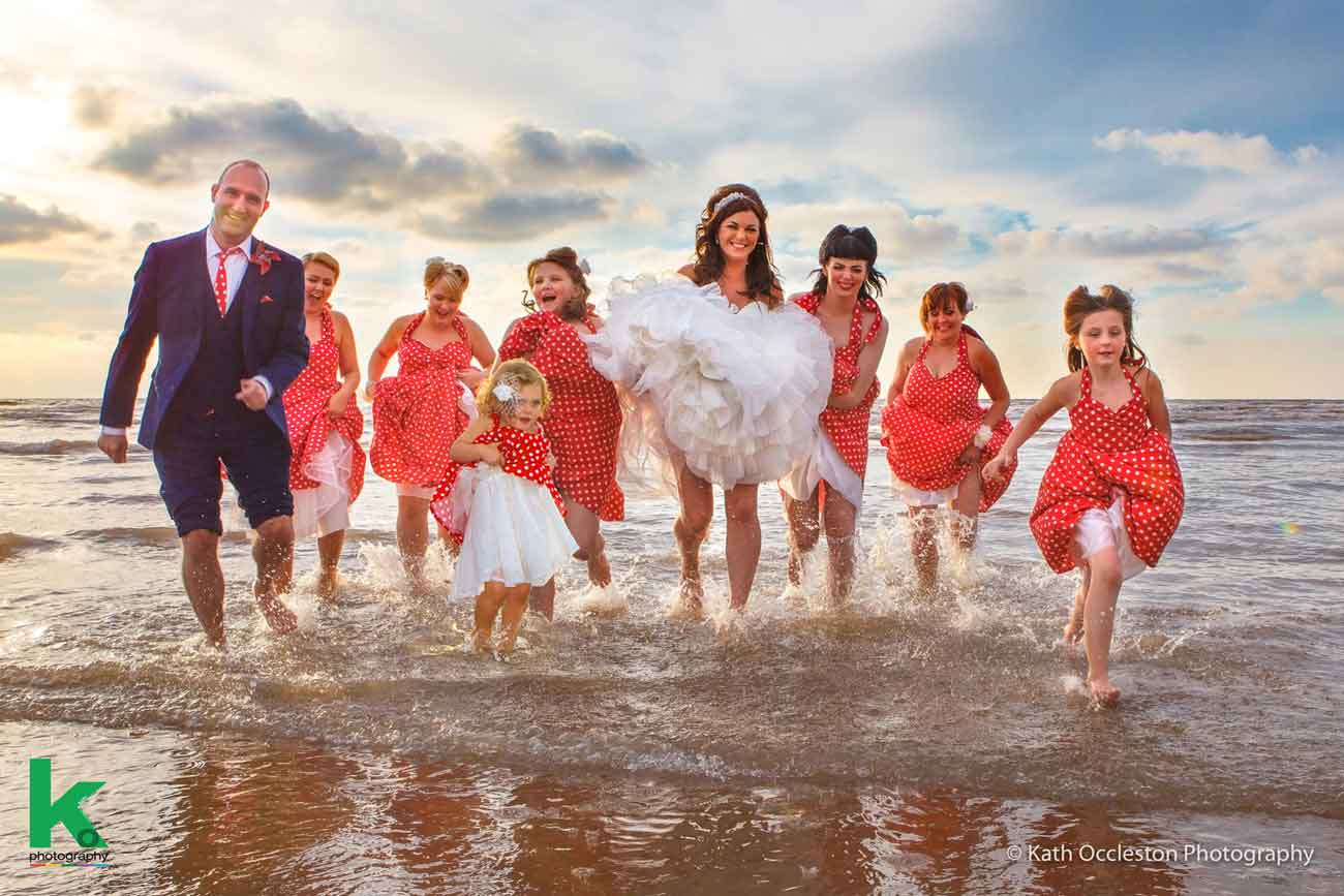 Blackpool wedding photography by Kath Occleston Photography