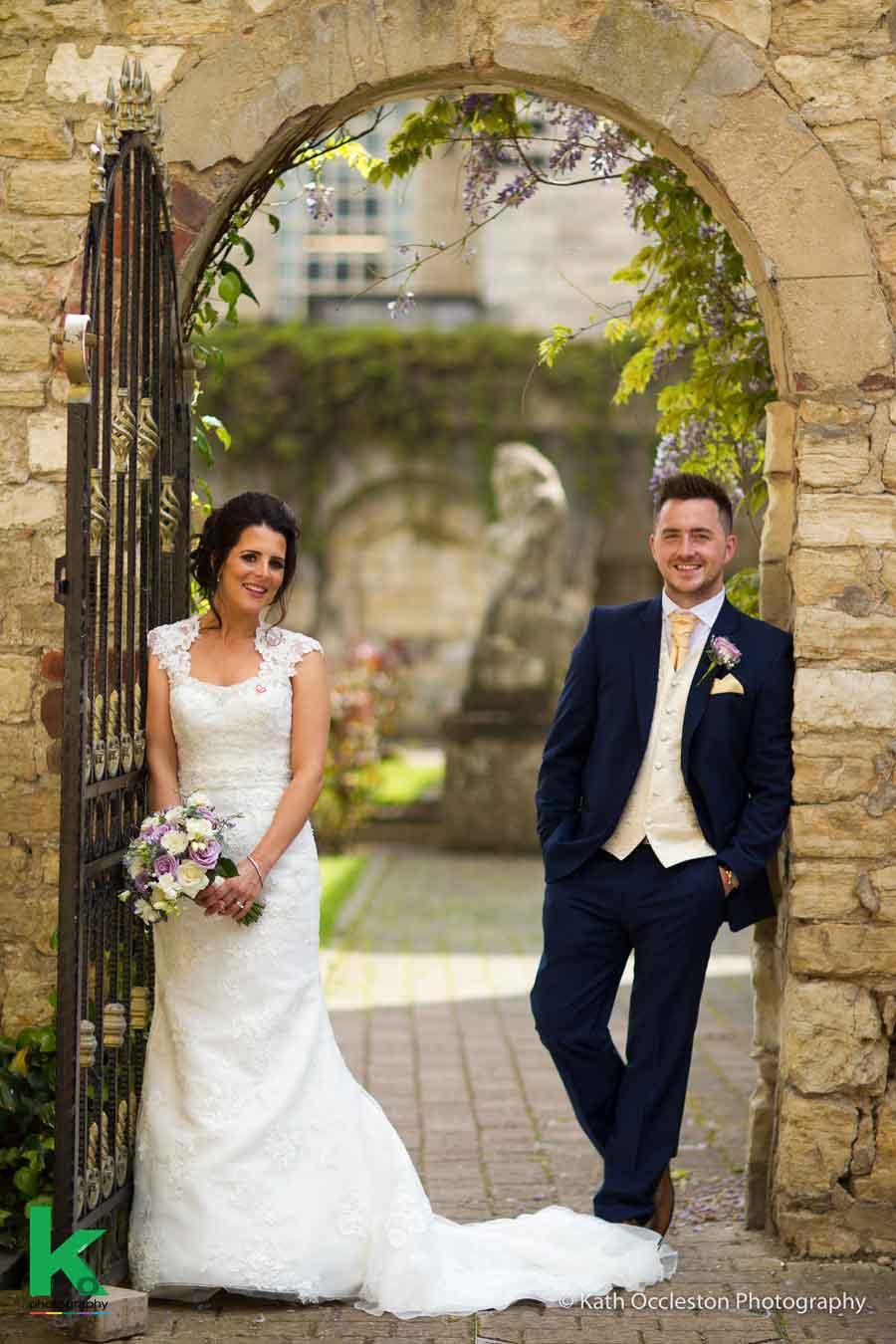 Castle wedding photography - Kath Occleston Photography