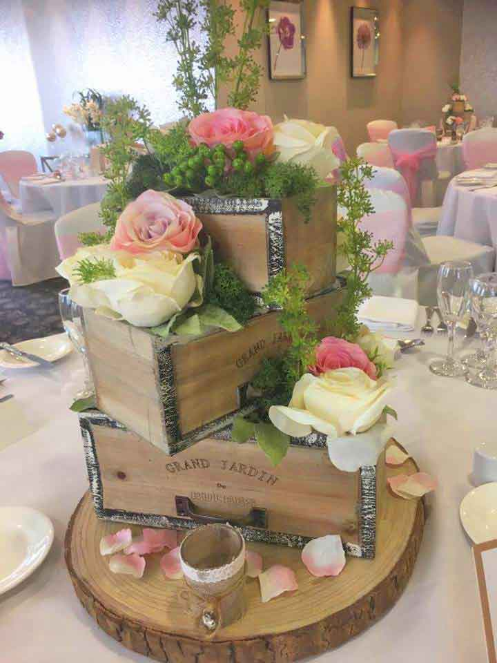 Set of 3 Grand Jardin Boxes by Sophisticated Events