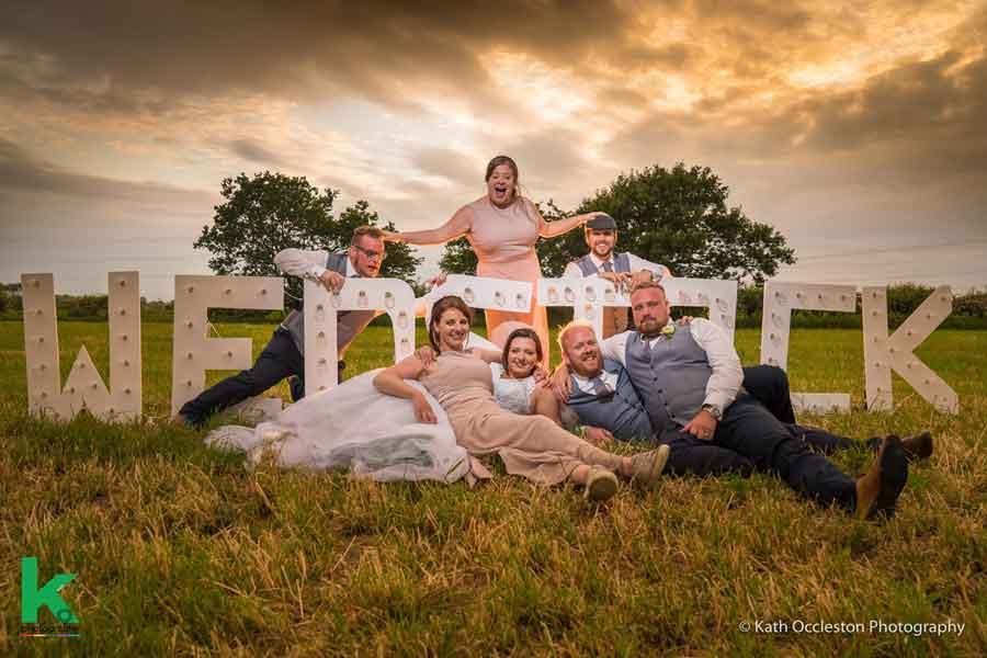 Festival wedding photography - Kath Occleston Photography