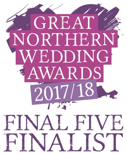 Charlotte Designs - nominated in the Great Northern Wedding Awards Final Five 2017-18