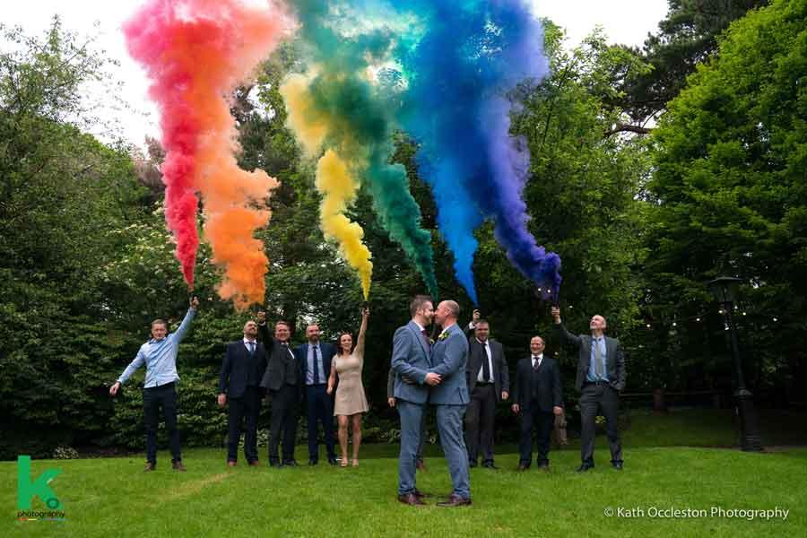 LGBTQ wedding photography - Kath Occleston Photography