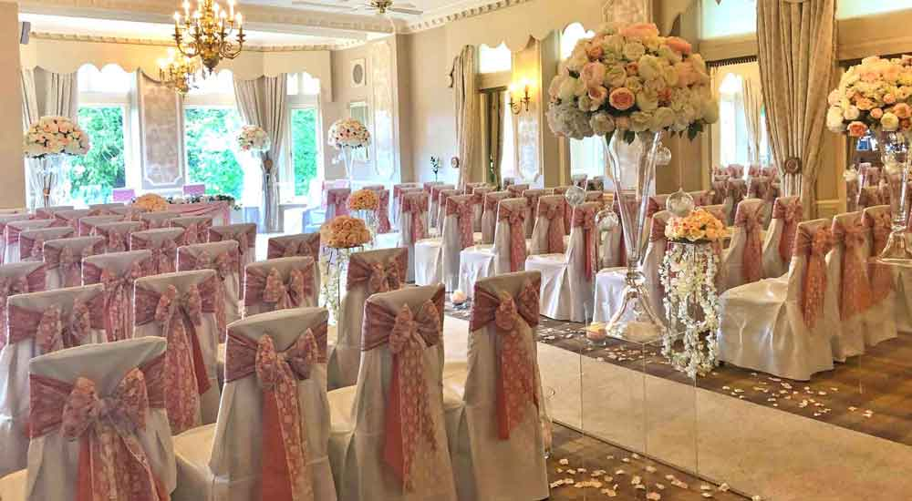 Lake District hotel wedding styling & venue dressing by Sophisticated Events