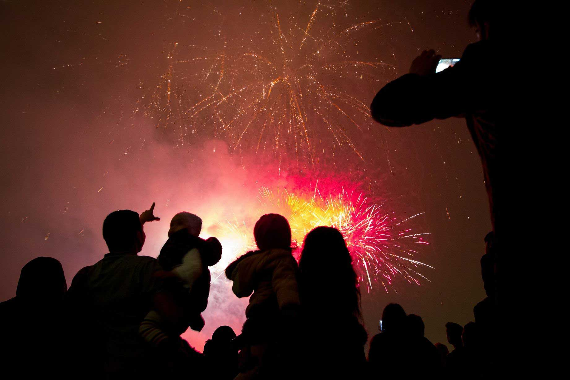 Wow your guests with a magical firework display
