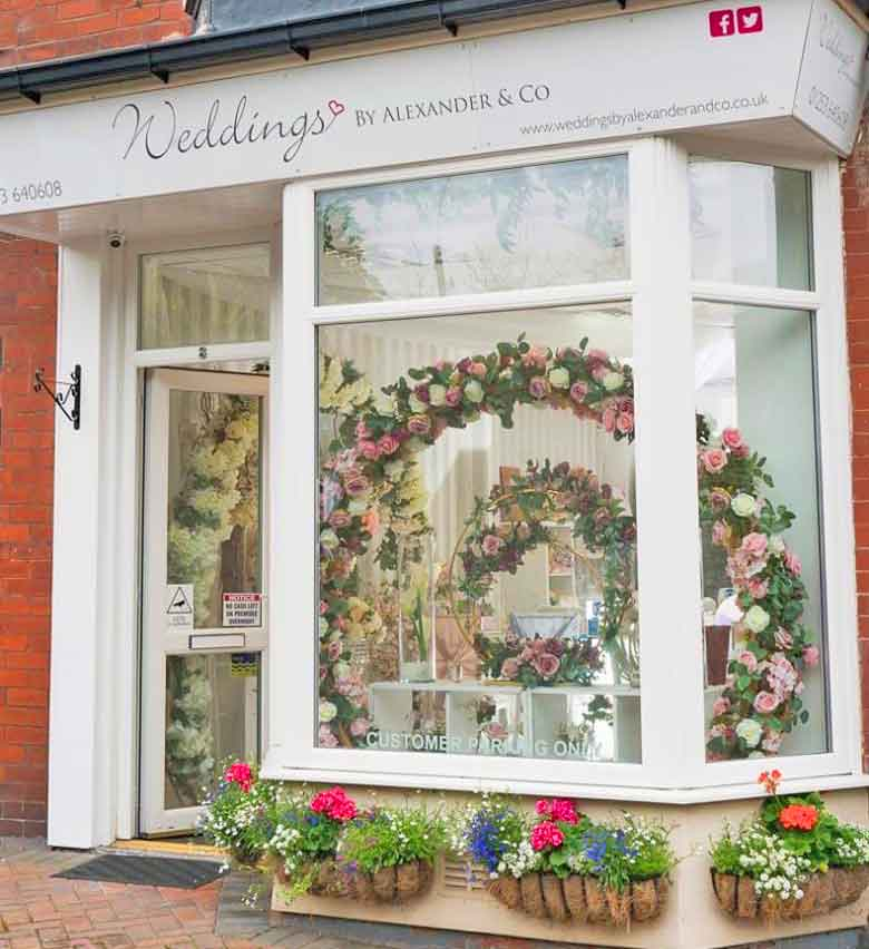 Weddings By Alexander & Co wedding boutique in St Annes on Sea